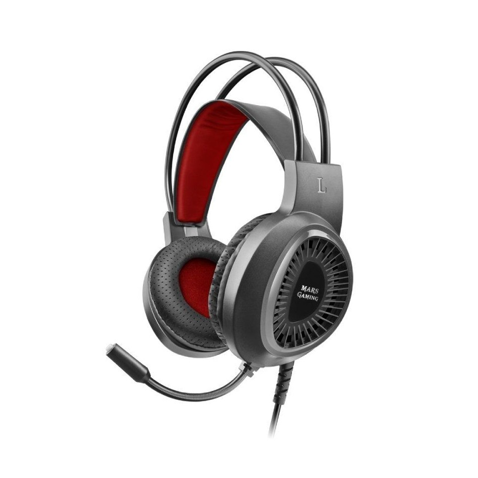 Comprar Auriculares Gaming con Micrófono Mars Gaming MH120/ Jack 3.5/ Negros