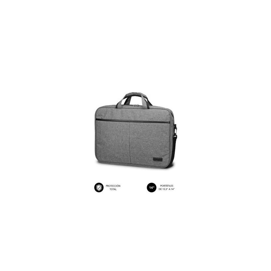 Comprar Maletin subblim elite laptop bag para portatiles hasta 14' cinta para trolley gris