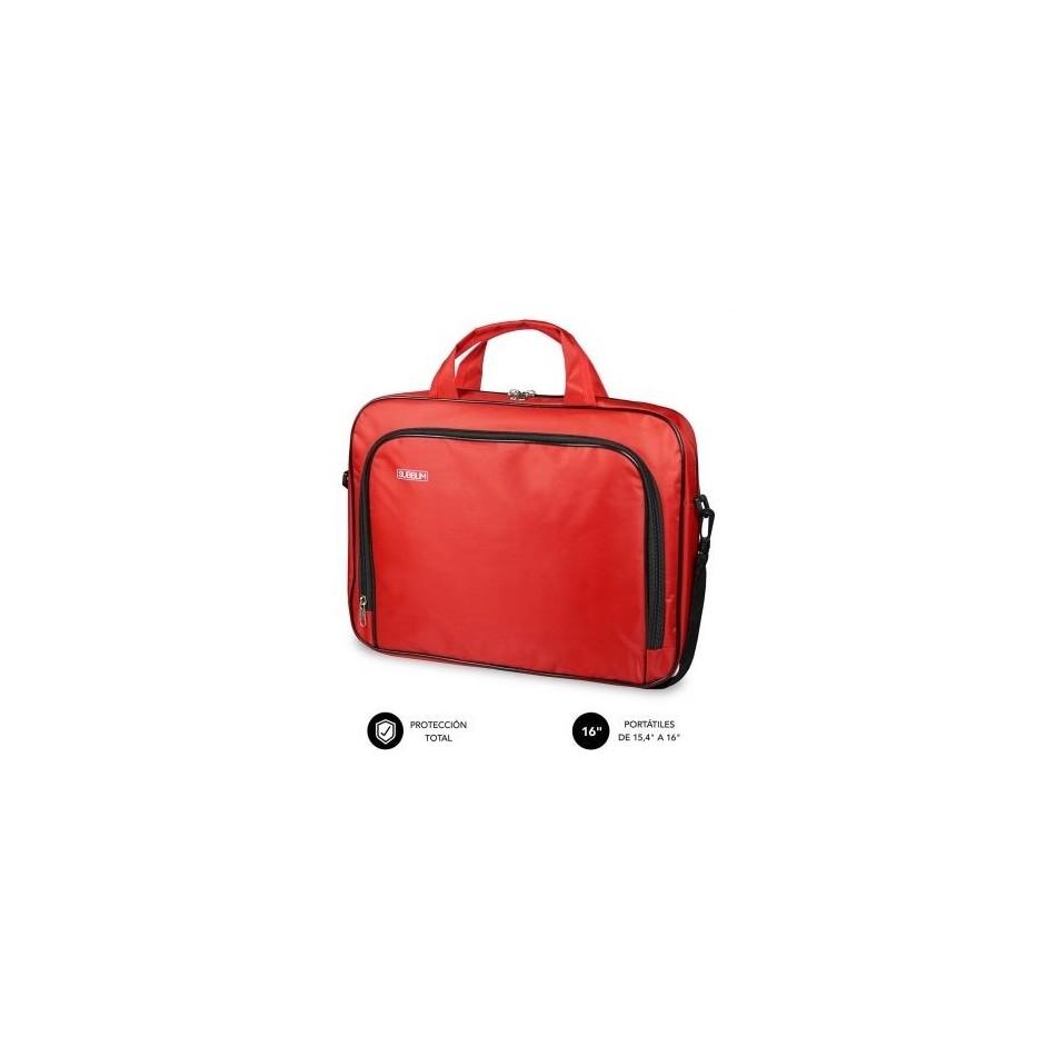 Comprar Maletin subblim oxford para portatiles hasta 16' rojo