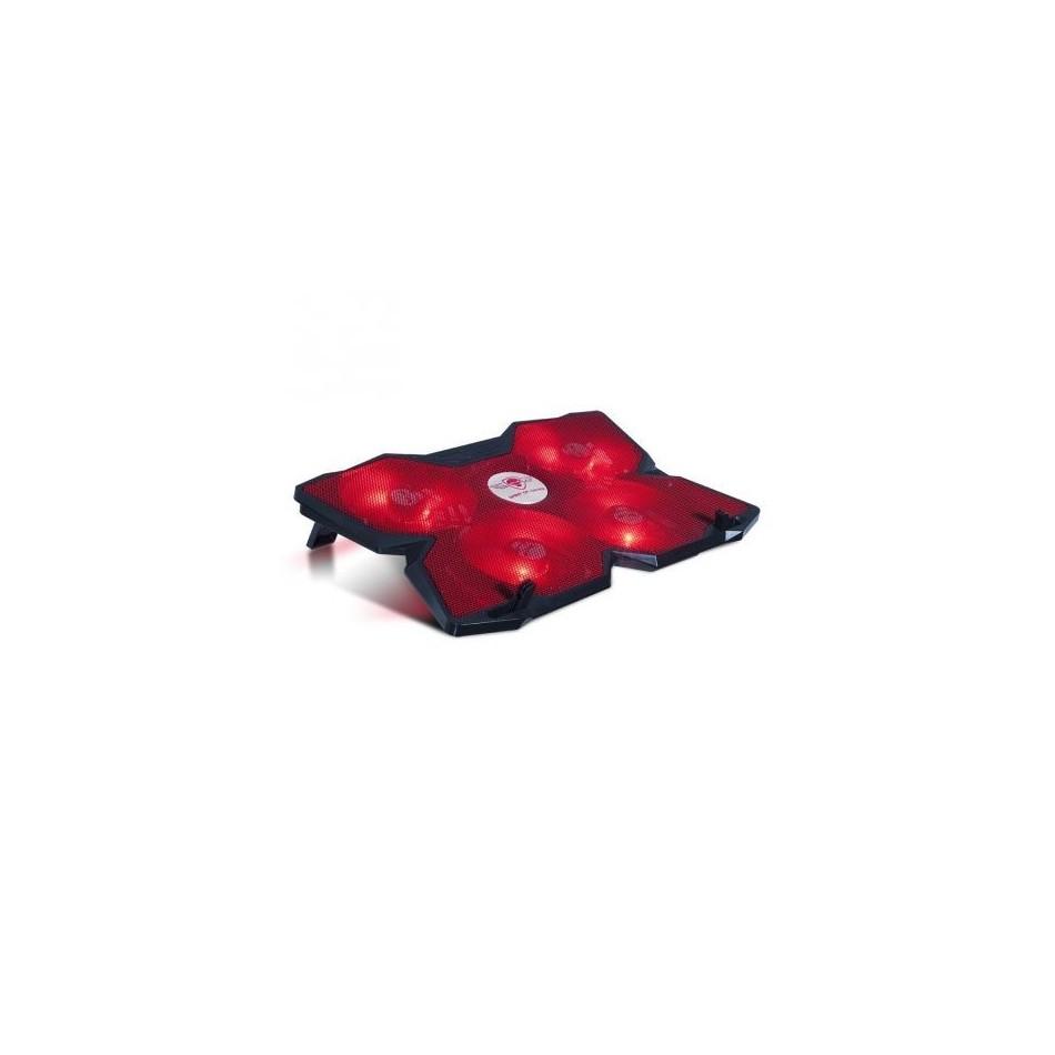 Comprar Soporte refrigerante spirit of gamer airblade 500 rojo para portatiles hasta 17.3' iluminacion led