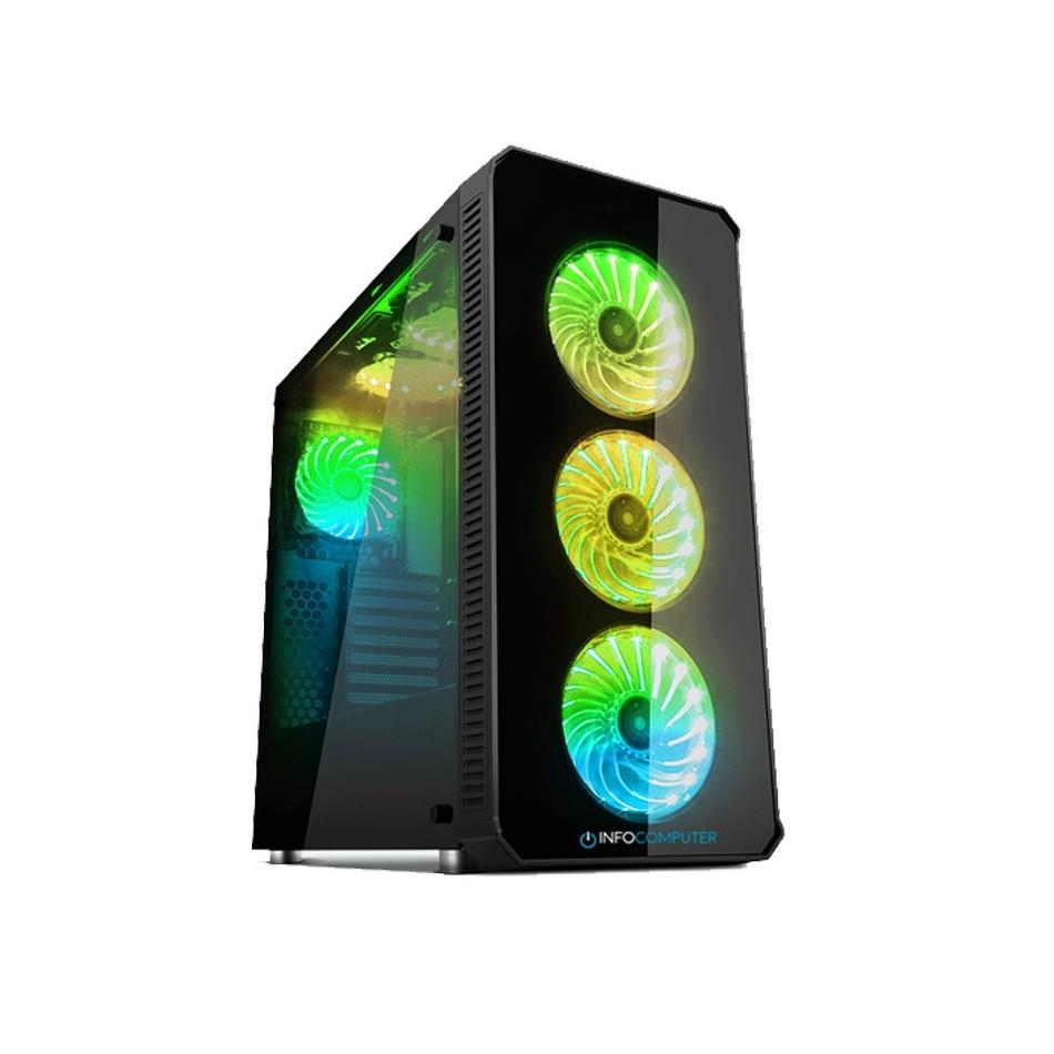 Comprar PC FORTNITE ALTO AMD Ryzen 7 3800X  3.9 GHz| 32 GB DDR4 | 1TB + 500GB M.2 | Grafica GTX 1050