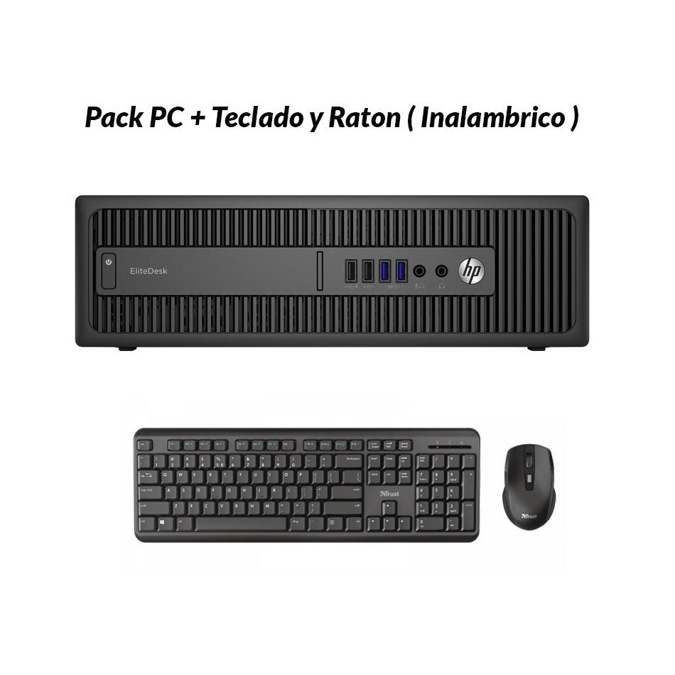 Comprar HP 800 G1 SFF i7 4770 3.4 GHz | 8 GB | 240 SSD| Teclado y Raton | WIN 10 PRO
