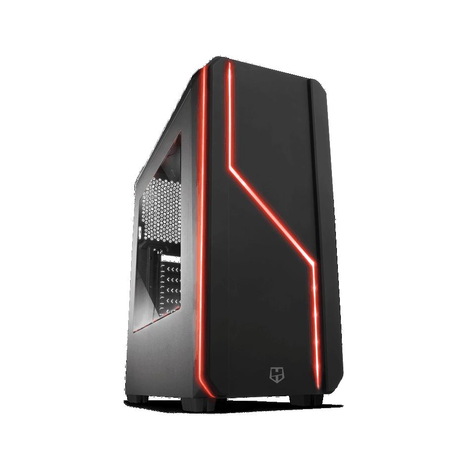 Comprar PC  - BASIC - AMD AM4 Ryzen 5 1600 | 8GB DDR4 | 240 SSD + 1TB | GRAFICA 1 GB | WIFI
