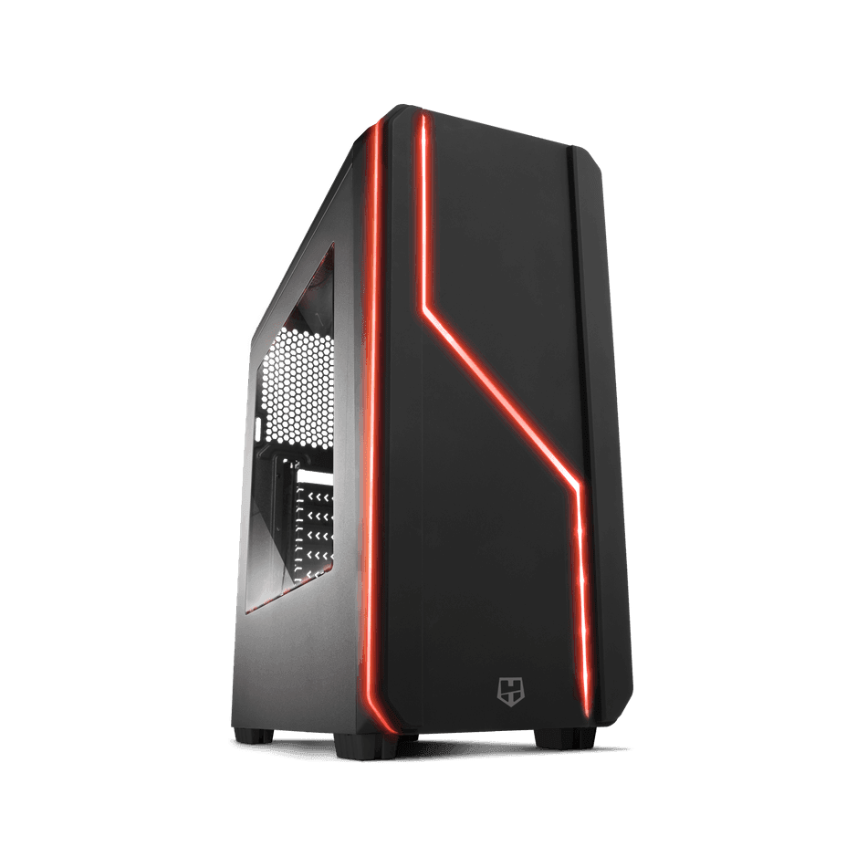 Comprar PC -  BASIC - AMD AM4 Ryzen 5 1600 | 16GB DDR4 | 240 SSD + 1TB | GRAFICA 1 GB | WIFI 5G