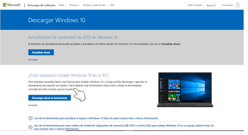 tutorial install windows infocomputer parte 1