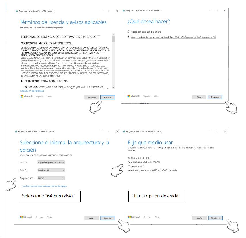 tutorial install windows infocomputer parte 2