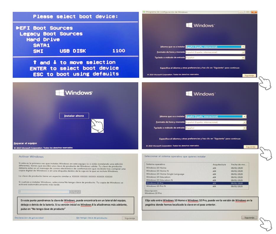tutorial install windows infocomputer parte 4