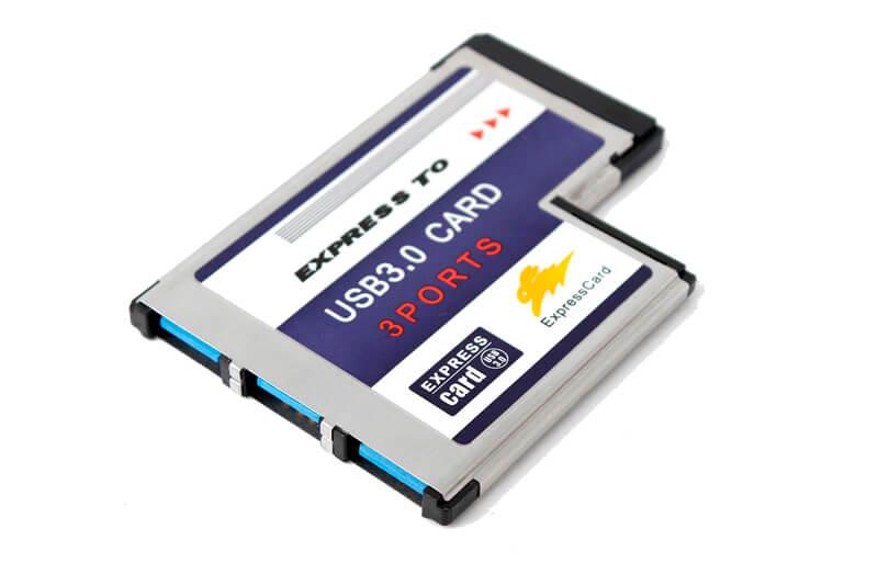 Comparación  PCMCIA, PC Card, CardBus y ExpressCard